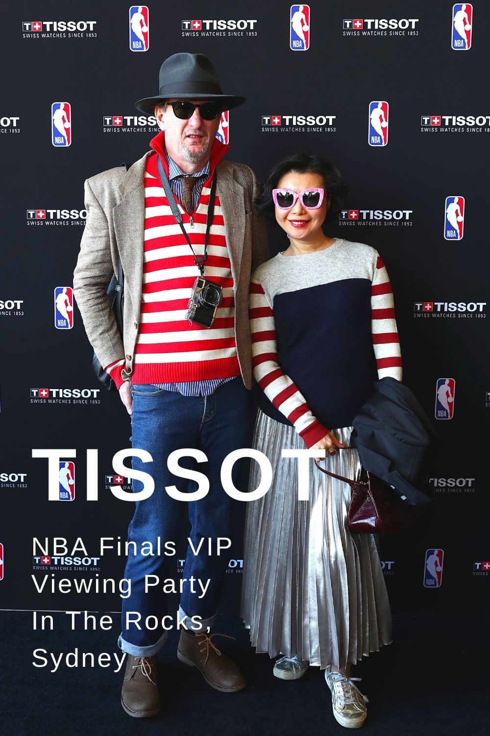 Tissot NBA Finals VIP Viewing Party in The Rocks, Sydney. Event coverage by White Caviar Life.