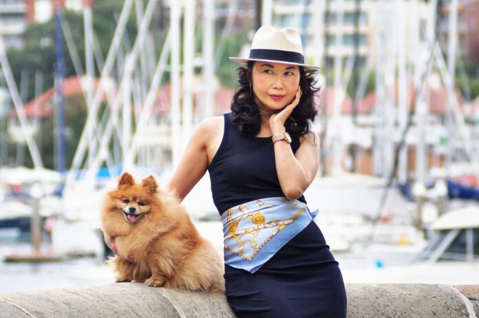Portraits with my pet by fashion photographer Kent Johnson. Fashion story by White Caviar Life.