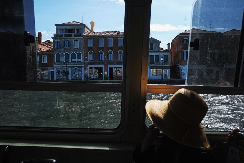 How to get to the Piazza San Marco from Venezia Santa Lucia railway station by vaporetto?