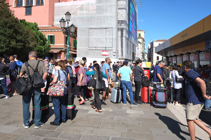 How to get to the Piazza San Marco from Venezia Santa Lucia railway station?
