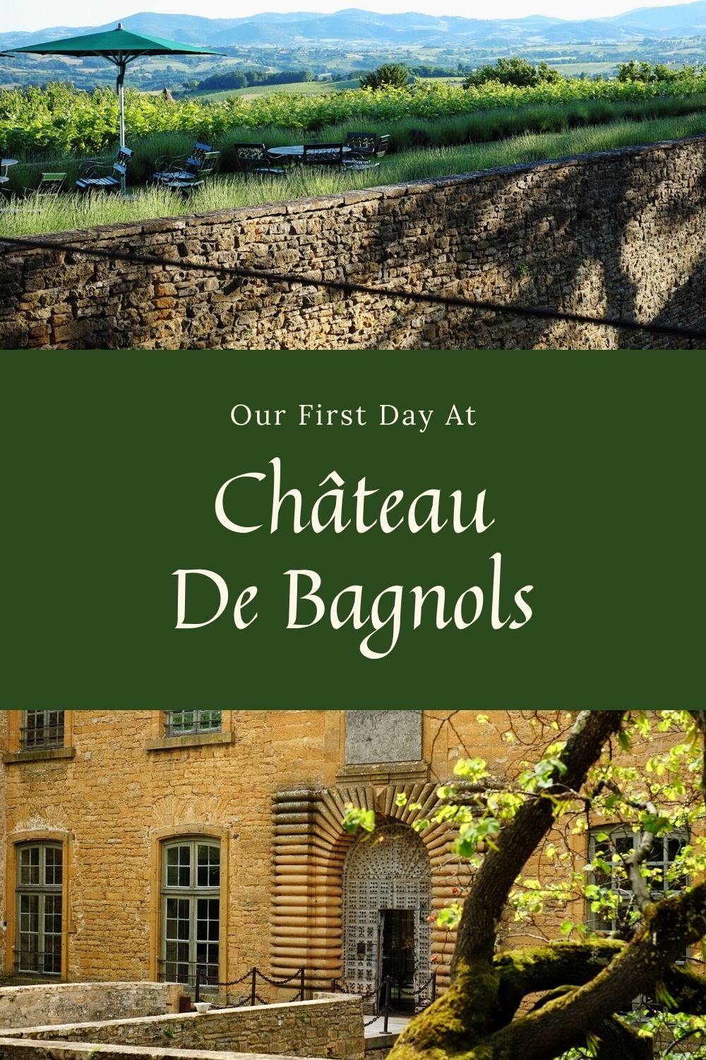 Beaujolais region in France travel tips and Château de Bagnols hotel reviews by White Caviar Life.