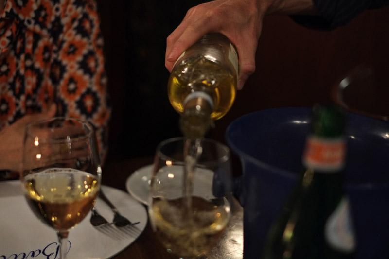 Veneto wine Gini 2017 Soave Classico. Ristorante ai Barbacani food review by White Caviar Life.