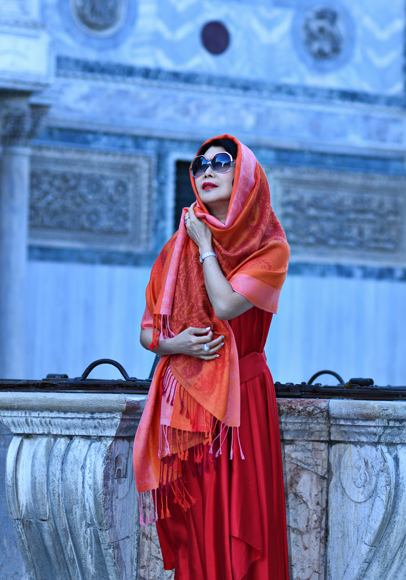 Venice fashion story by White Caviar Life. Location shoot at the Piazza San Marco by Sydney fashion photographer Kent Johnson.